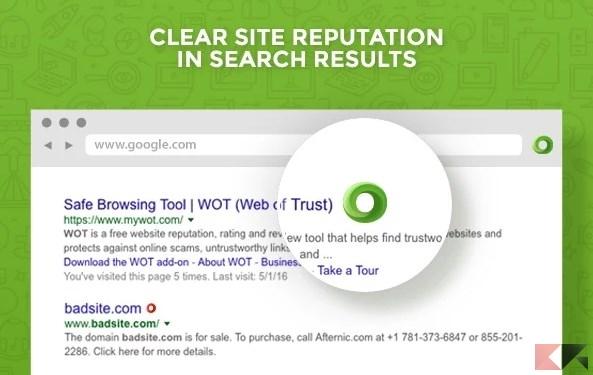 WOT_ Web of Trust, Website Reputation Ratings - Chrome Web Store
