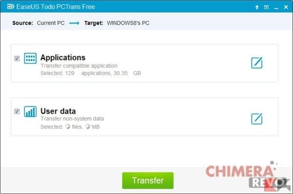 transfer files programs windows