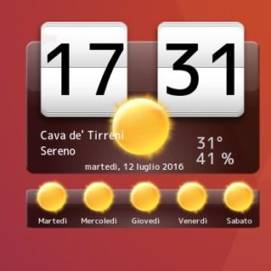 my weather widget 2