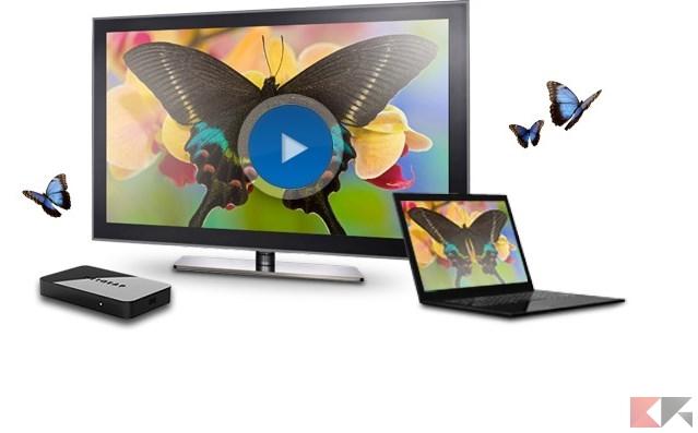 Guida DLNA, AirPlay, Miracast, Chromecast e WiDi