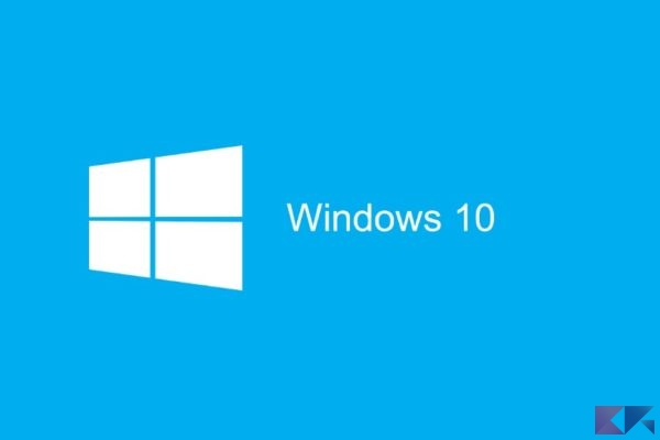 installazione pulita di Windows 10