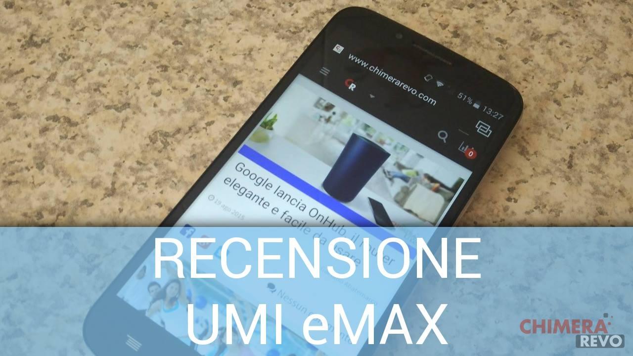Recensione UMI eMAX