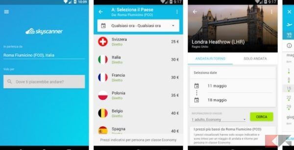Skyscanner - App Android su Google Play
