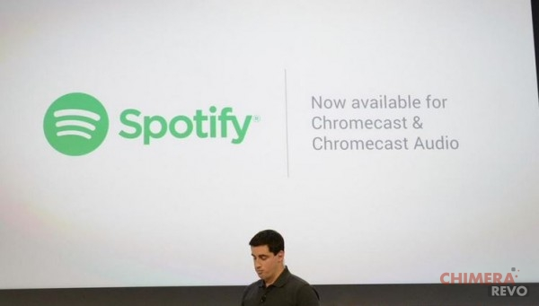 Spotify Chromecast 2