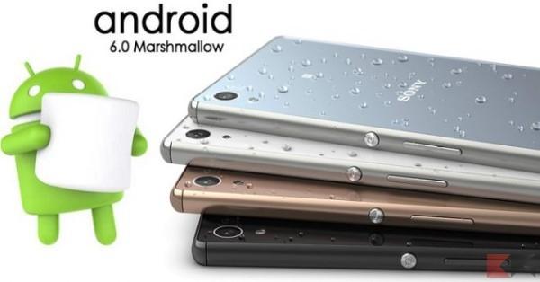 Android 6.0 Marshmallow - Sony