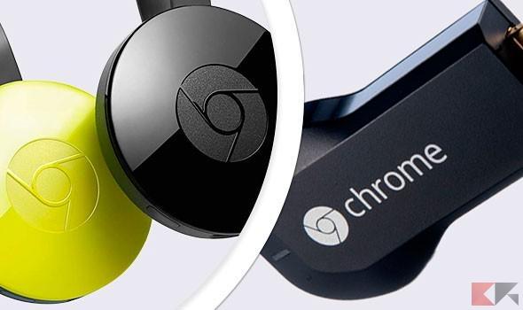 Chromecast 1 e 2