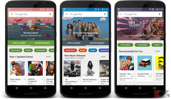 Nuovo Play Store
