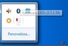 tastiera senza led