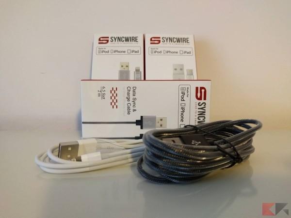 Syncwire da Lightning a USB