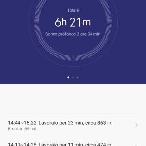 Xiaomi Mi Band 1S - screenshots (1)