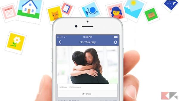 eliminare persone e date dai ricordi di facebook