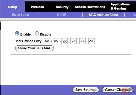spiare whatsapp mac address