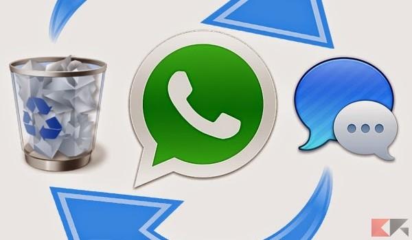 Recuperare conversazioni WhatsApp cancellate