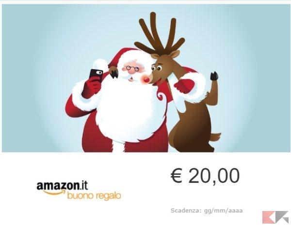 2016 12 14 11 19 20 Buono Regalo Amazon.it E mail Babbo Natale Selfie Amazon.it Buoni regalo