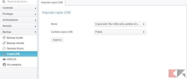 Copia USB