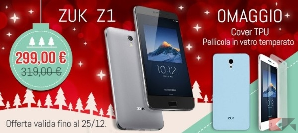 Natale 2015 Honorbuy - ZUK Z1