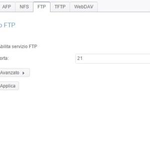 Servizio di file FTP
