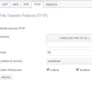 Servizio di file TFTP