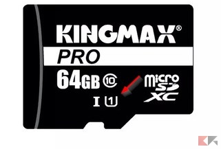 velocità microSD