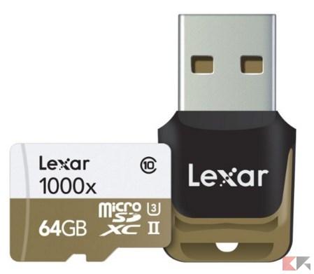 microSD II
