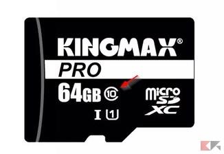 microSD classe 10