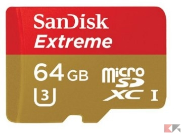 microSD u3