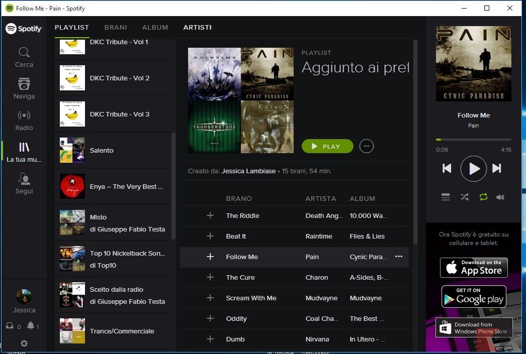 Spotify Web Player: musica gratis senza pubblicità