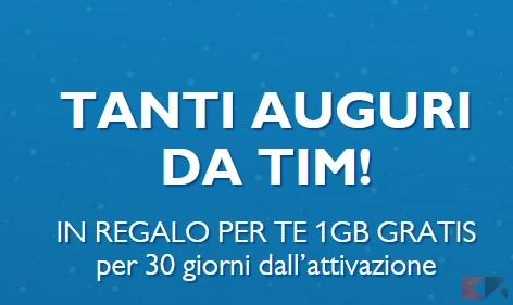 Per natale tim regala 1 gb di internet a tutti chimerarevo for Magazzini telefonia discount recensioni
