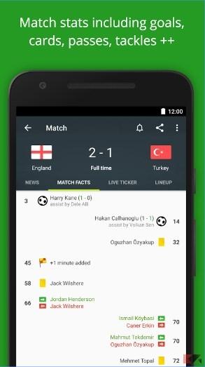 Le migliori app di calcio per android 2016 2017 for App per progettare casa android