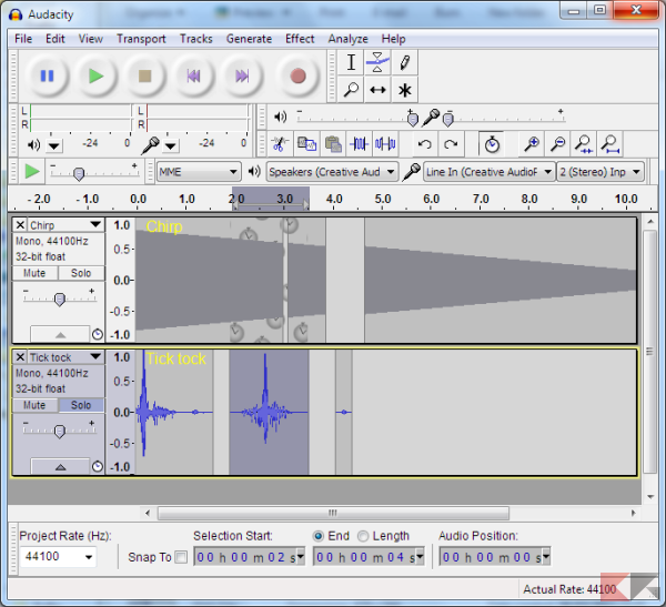 registrare audio da PC