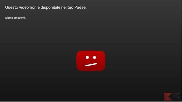 Questo video non è disponibile