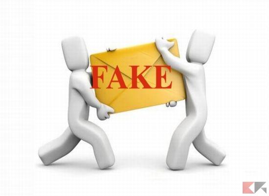 riconoscere email false