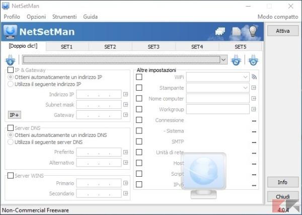 modificare IP automaticamente