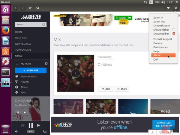 Nuvola Cloud Player Music