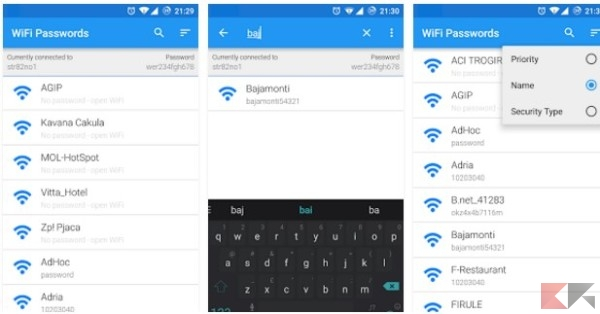 how to break wifi password with android