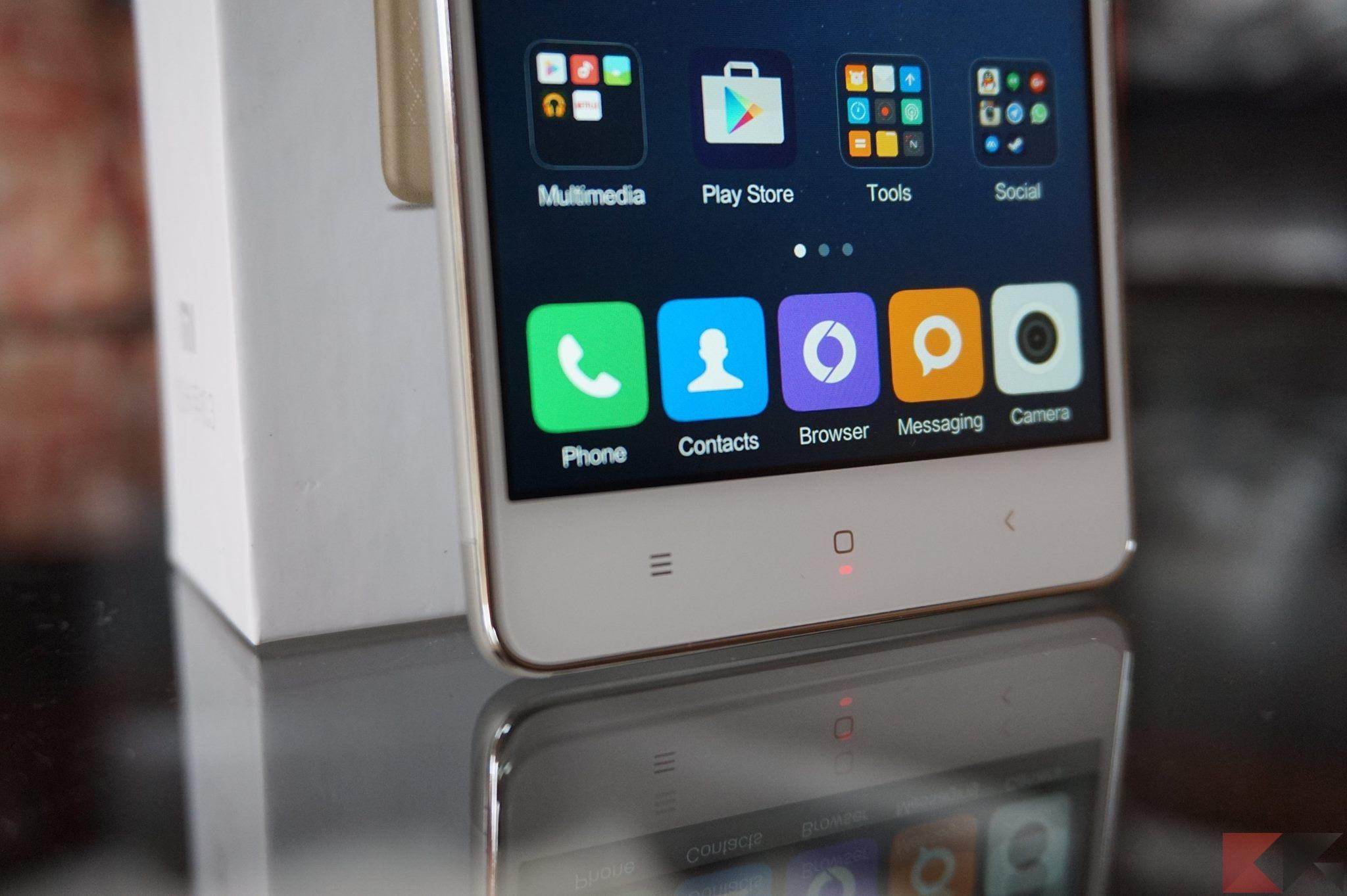 Recensione xiaomi redmi 3 lo smartphone che vorrete - Smartphone con tasti ...