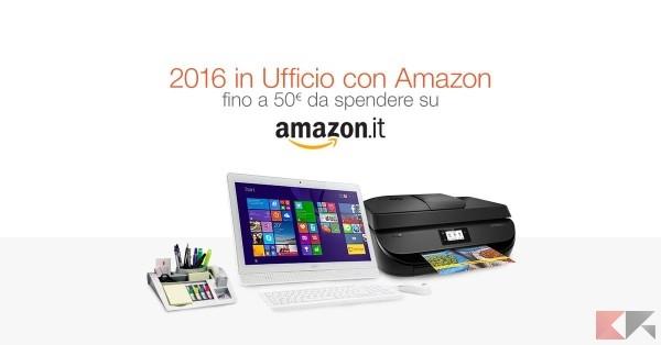 Amazon 2016 sconti ufficio