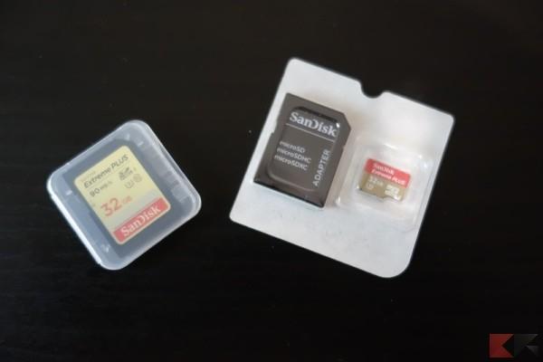 SanDisk Extreme PLUS SD e microSD