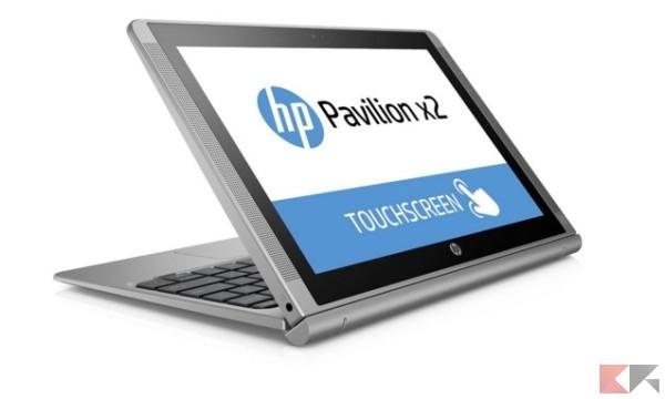 HP Pavilion x2 10-n200nl Notebook Convertibile