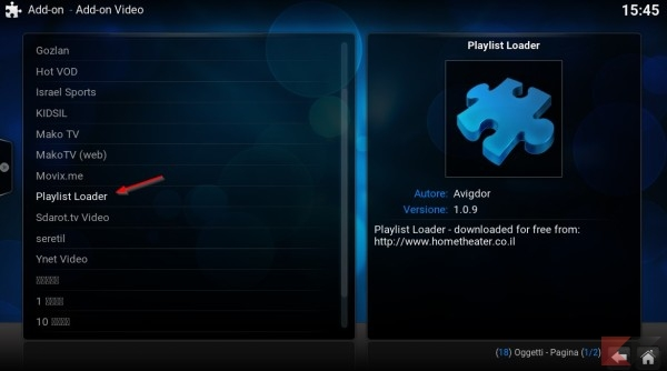 Playlist loader