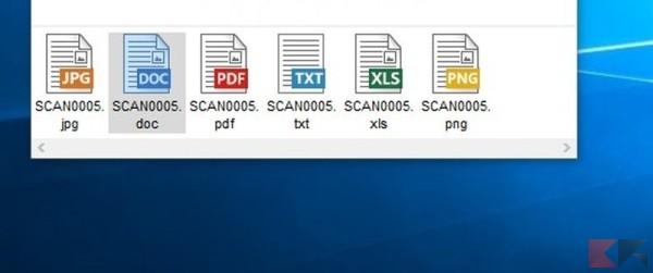 formati disponibili per l'esportazione_risultato