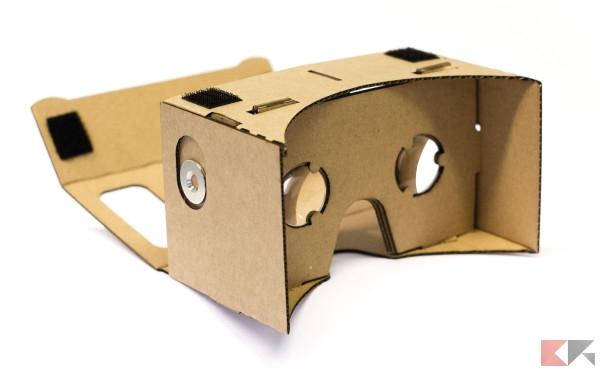 Visori per la realtà virtuale