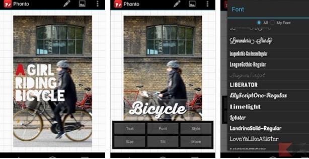 Migliori app per aggiungere testo alle foto