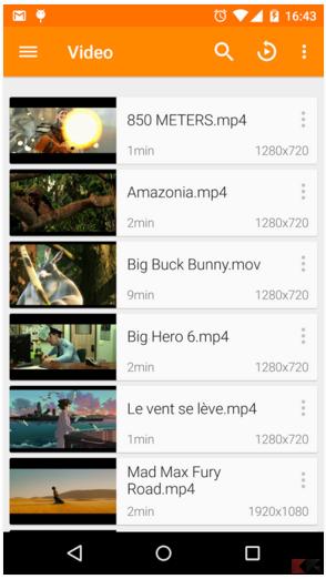 vlc - lettore musicale e video