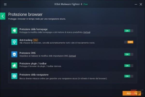 7. Protezione di Browser_risultato