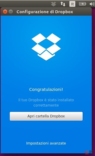 Config dropbox