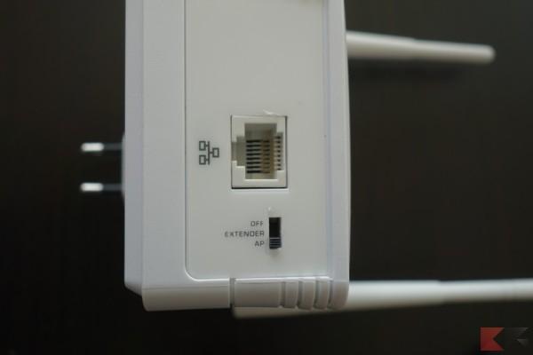 range extender bottone ed ethernet