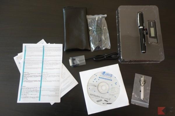 IRISPen Executive 2 contenuti confezione