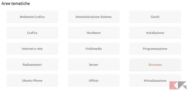 aiuto per Ubuntu