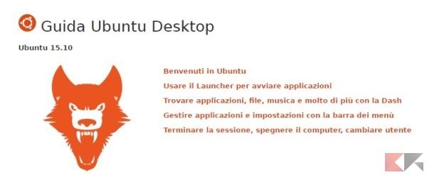 Guida Ubuntu Desktop